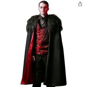 Men's Deluxe Vampire Halloween Costume Size L